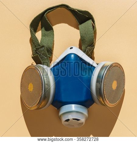 Respirator To Protect The Human Respiratory System From Harmful Impurities The Concept Of Protection