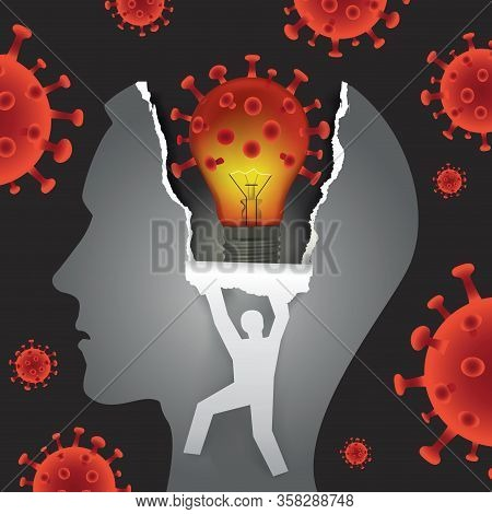Psychological Examination, Mental Problems In Coronavirus Pandemic Time.