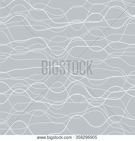 Minimalist Line Pattern, Simplicity Stripe Background, Subtle Backdrop, Smooth And Wavy