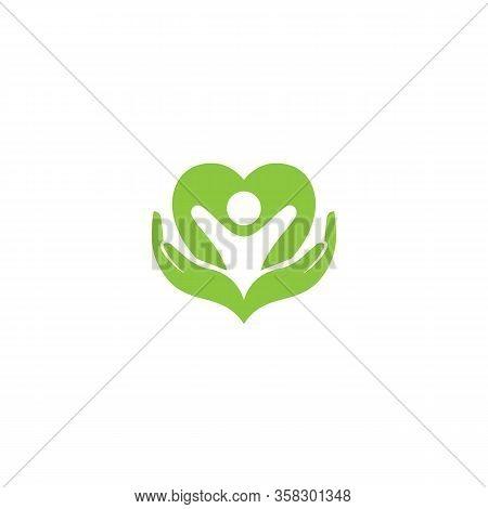 Creative Natural Health Care Logo Template Eps 10