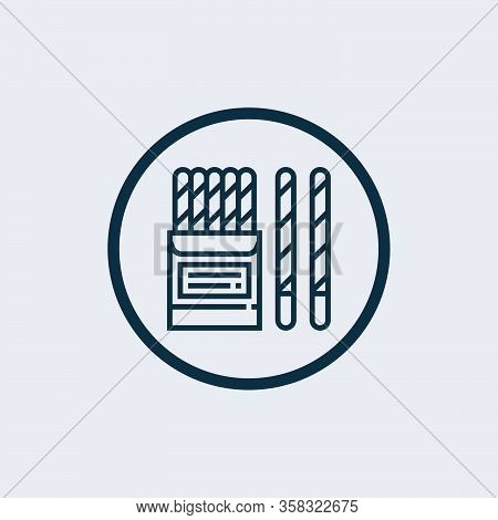 Candy Cane Vector Icon. Filled Flat Sign For Mobile Concept And Web Design. Candy Cane Stick Glyph I
