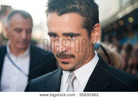 MOSCOW, RUSSIA, AUGUST, 8: Actor Colin Farrell. Premiere of the movie