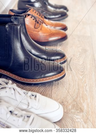 Collection Of Classic And Casual Mens Shoes