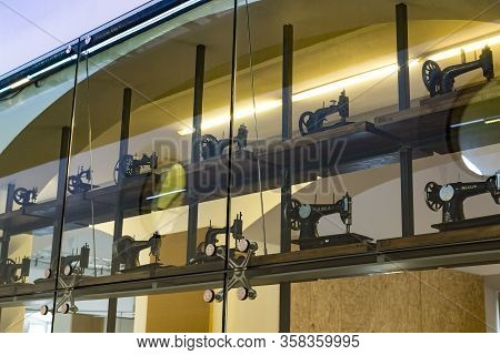 Milan, Italy - 6 June 2018: Technological Technical Museum Named After Leonardo Da Vinci Department,