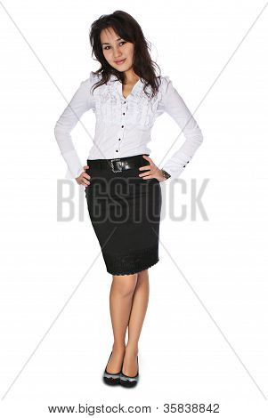Business Woman Full Body