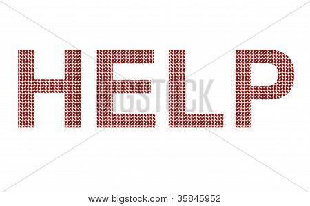Red pills spell HELP