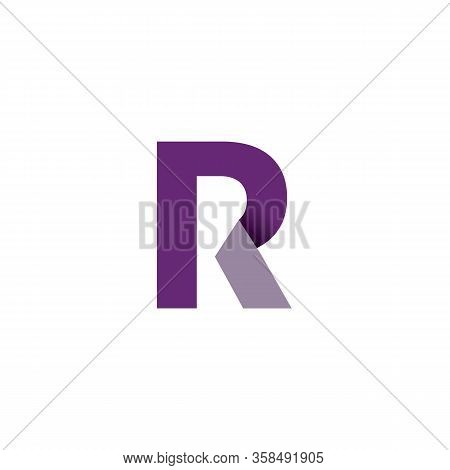 Pr P R Logo Simple And Templates Vector, Home