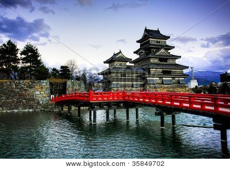 Matsumoto Castle, Japan poster