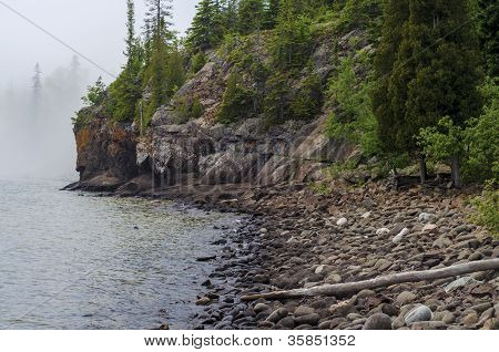 Lake Superior, Fog