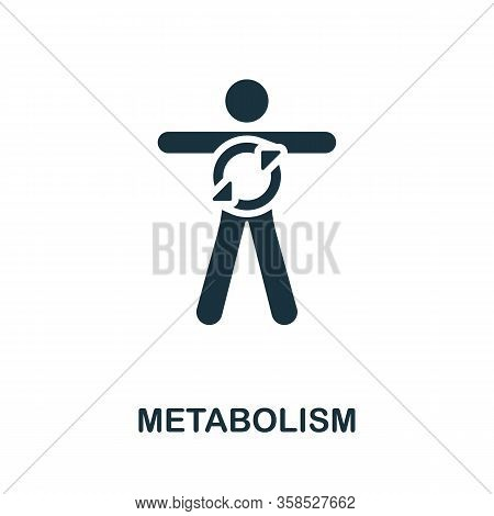 Metabolism Icon. Simple Illustration From Healthy Lifestyle Collection. Creative Metabolism Icon For