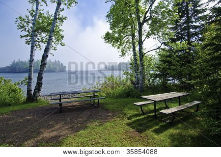 Picnic Area, Lake Superior
