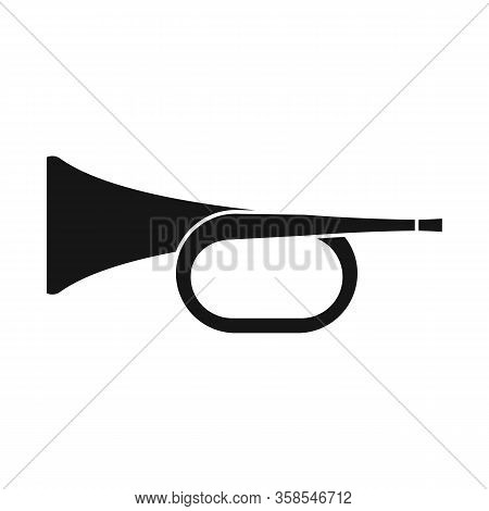 Isolated Object Of Trumpet And Music Icon. Graphic Of Trumpet And Orchestra Stock Vector Illustratio