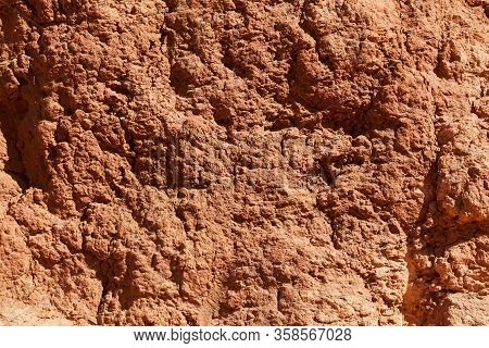 The Surface Of A Laterite Soil