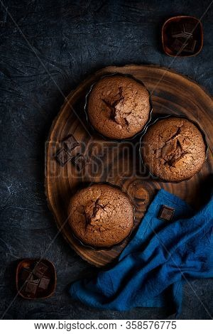 Chocolate Tartelettes  Baked In Oven Proof Ramequins
