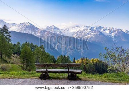 Morning landscape in High Tauern, East Tyrol, Austria
