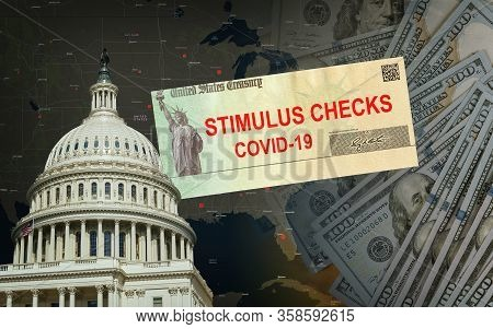 Understanding The Senate S 2.2 Trillion Stimulus Bill From Government Us 100 Dollar Bills Currency O