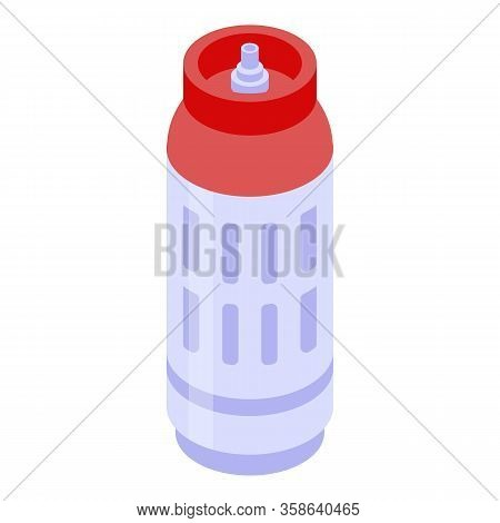 Lpg Gas Cylinders Icon. Isometric Of Lpg Gas Cylinders Vector Icon For Web Design Isolated On White