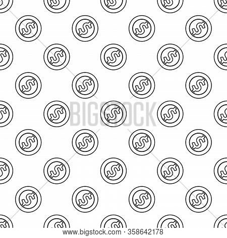 Money Coin Pattern Line Design Vector Eps 10