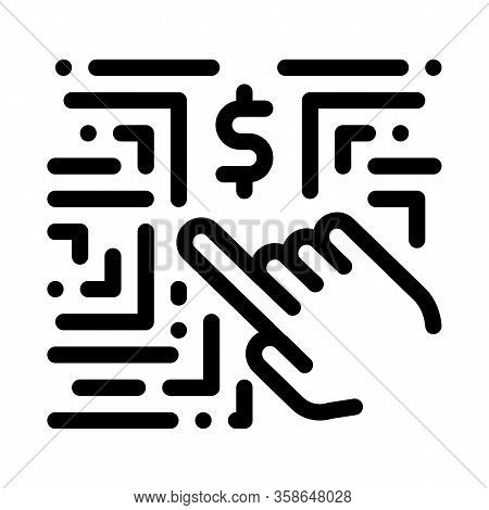 Money-making Innovation Icon Vector. Money-making Innovation Sign. Isolated Contour Symbol Illustrat