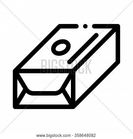 Pack Of Creamy Spread Icon Vector. Pack Of Creamy Spread Sign. Isolated Contour Symbol Illustration