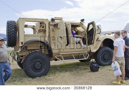 Oshkosh Humvee Side View