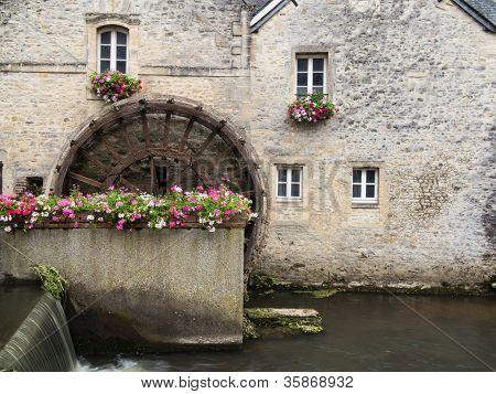 Bayeux Water Wheel