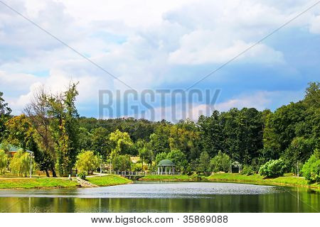 Park In Feofaniya, Kyiv, Ukraine