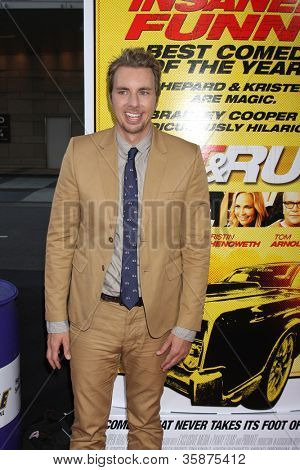LOS ANGELES - AUG 14:  Dax Shepard arrives at the