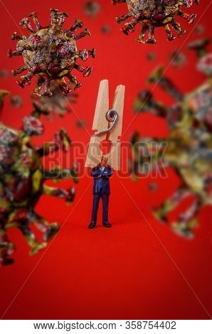Ignorant Businessmen Coronavirus Infection