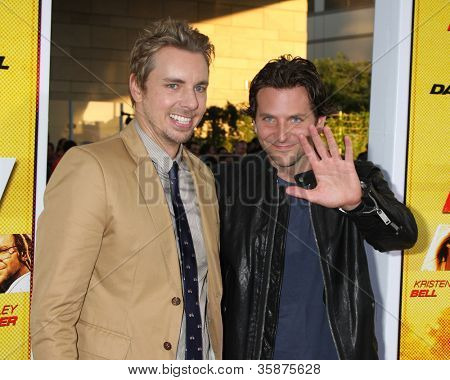 LOS ANGELES - AUG 14:  Dax Shepard, Bradley Cooper arrives at the