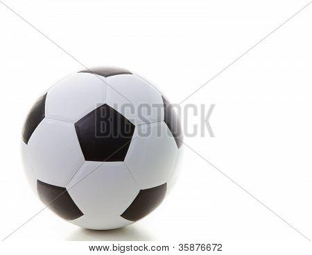 soccer football isolated white