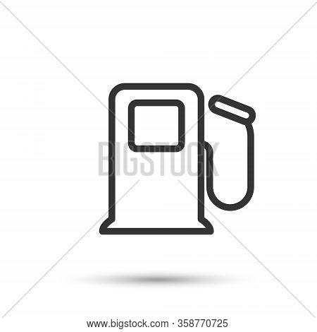 Fuel Vector Icon. Refuel Thin Line Icon