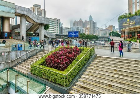 Shenzhen, China - January 16, 2016: Shenzhen City Is A Major Financial, Economic, Business And Trade