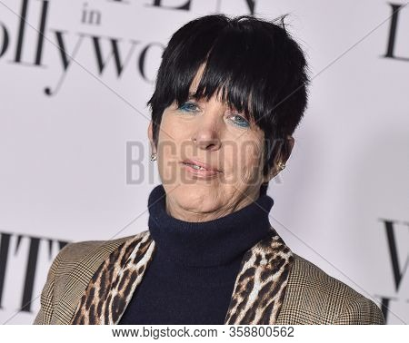 LOS ANGELES - FEB 06:  Diane Warren Diane Warren arrives for 'The Way Back' World Premiere on February 06, 2020 in West Hollywood, CA