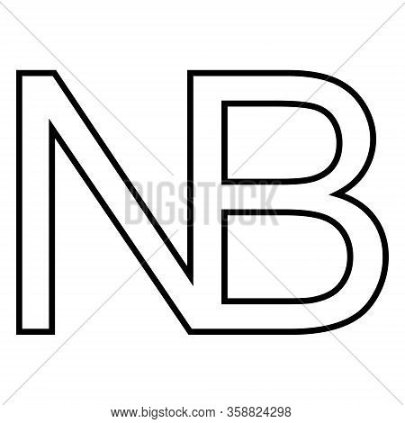 Symbol Sign Nota Bene, Vector Nota Bene, N, B Nb, Notabene Mark, Note To Pay Attention To Any Part T