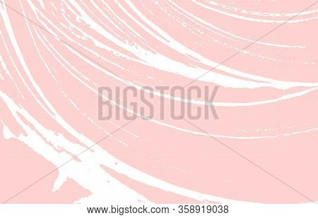 Grunge Texture. Distress Pink Rough Trace. Graceful Background. Noise Dirty Grunge Texture. Trending