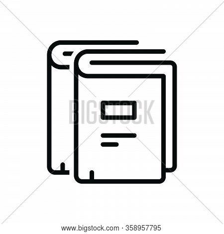 Black Line Icon For Publish Unfold Demonstration Announced Broadcast Declare Distribute Publicize