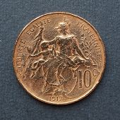 Euro coin (currency of the European Union) poster