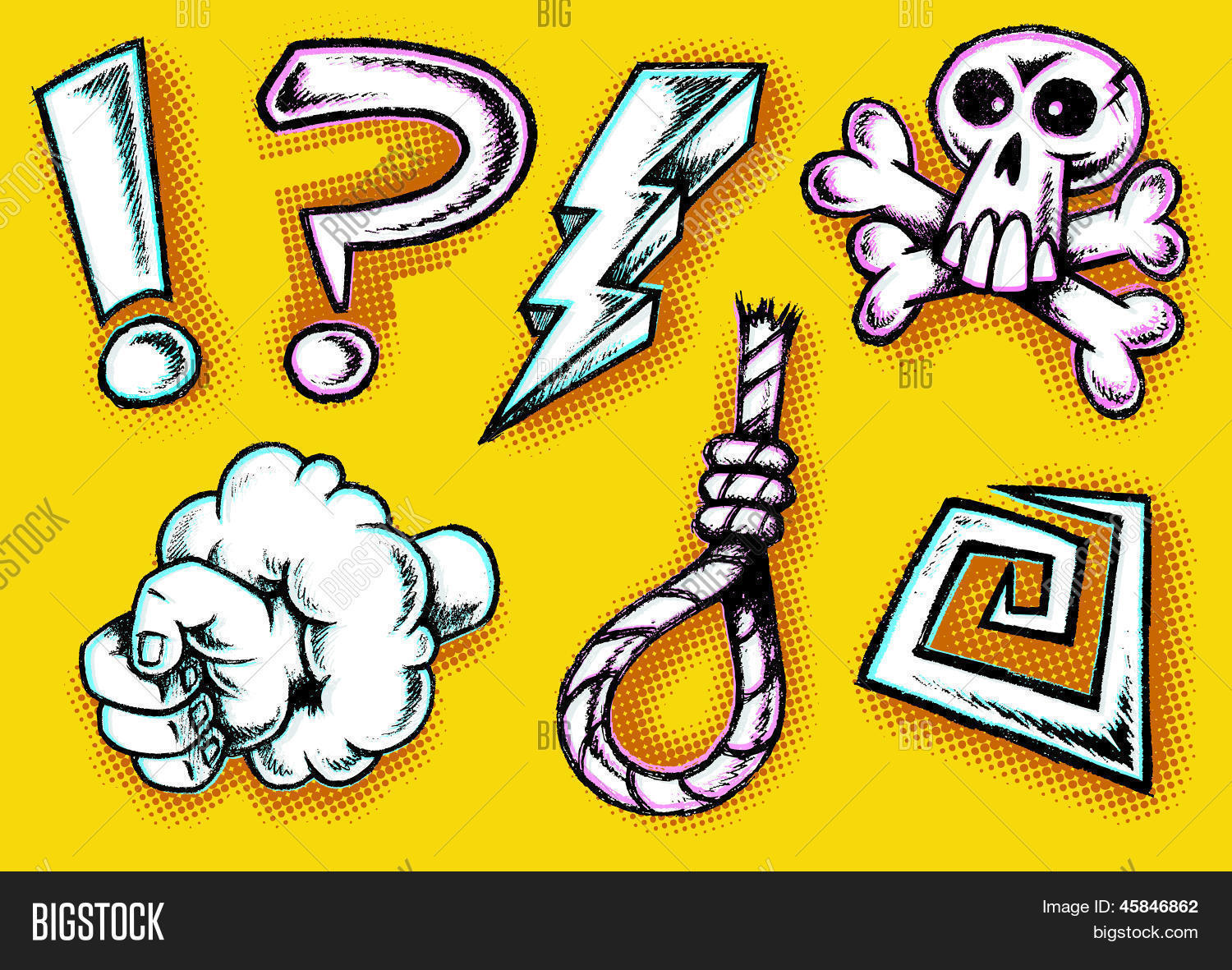 Hand Drawn Cartoon Vector Photo Free Trial Bigstock
