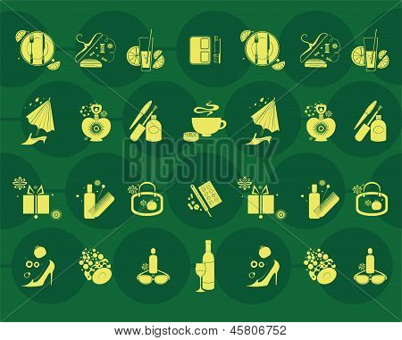 fashion and lifestyle vector design elements