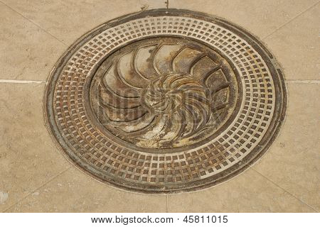 Shell Manhole Cover