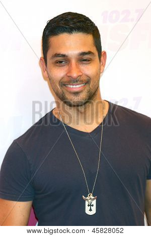 LOS ANGELES - MAY 11:  Wilmer Valderrama arrives at the 2013 Wango Tango concert produced by KIIS-FM at the Home Depot Center on May 11, 2013 in Carson, CA