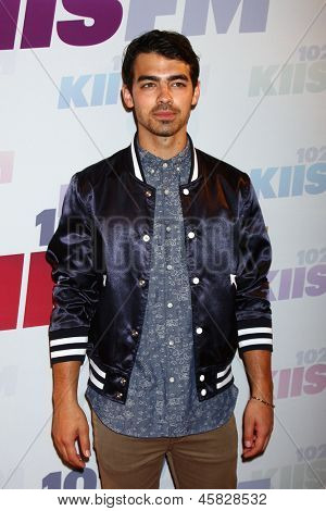 LOS ANGELES - MAY 11:  Joe Jonas attends the 2013 Wango Tango concert produced by KIIS-FM at the Home Depot Center on May 11, 2013 in Carson, CA