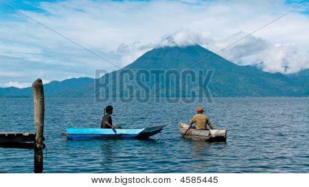 Volcano In Atitlan