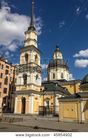 Church of Ss. Simeon and Anna, St. Petersburg, Russia
