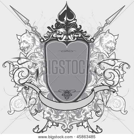 vector weapon shield design