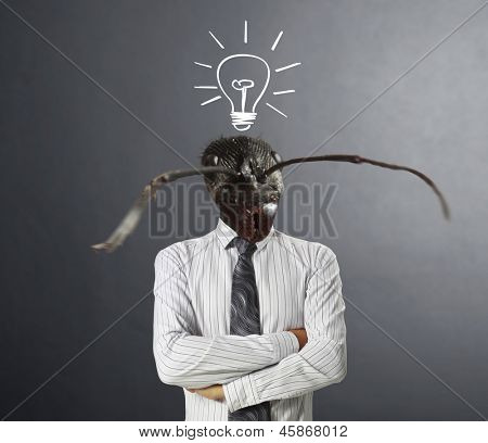 businessmen, Ideas Head ants