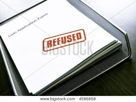 Loan refused
