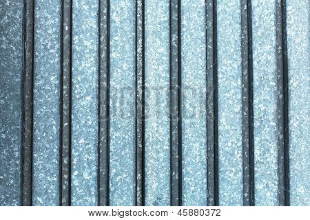 Metall Texture Silver Color With Vertical Line