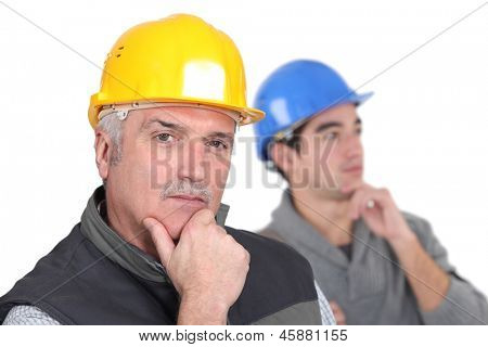 Thoughtful tradesmen